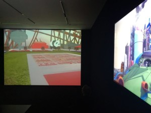 Cao-Fei-video-works-at-the-exhibition-Space-Force-Construction-V-A-C-Foundation-Palazzo-delle-Zattere-Venice-2017-800x600
