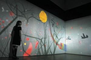 The Experience Machine exhibition at Ikkan Art International, 2012 (courtesy of artinasia.com)