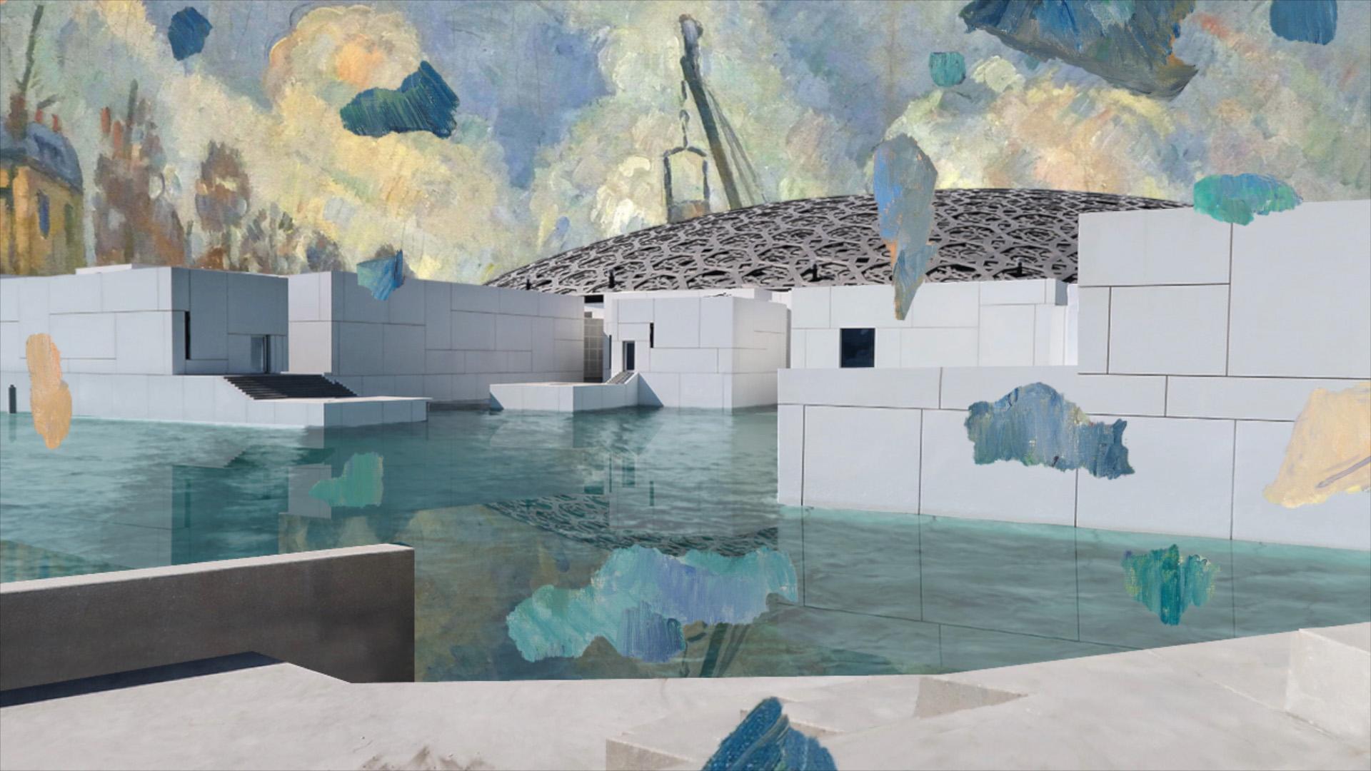 Joe Hamilton - Cezanne Unfixed - Video still 1